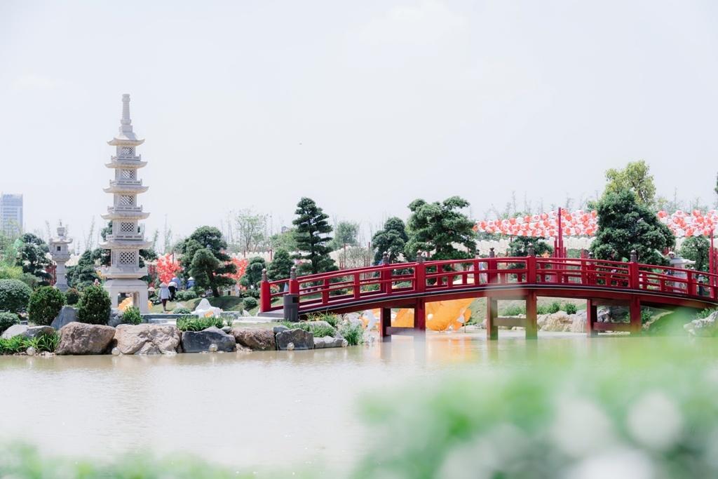 Những con số ấn tượng của Vườn Nhật Vinhomes Smart City quy mô và đẳng cấp hàng đầu Đông Nam Á