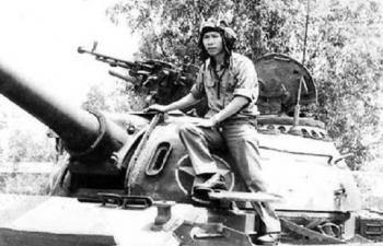 Những chiến tích oai hùng đi vào lịch sử của người lính xe tăng Việt Nam
