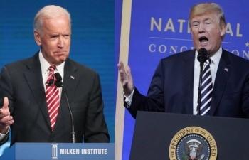 Bầu cử Mỹ: Biden tiếp tục giành ưu thế, dẫn trước Trump 10 điểm trên toàn quốc