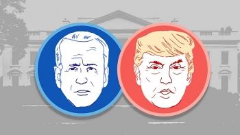 Cuộc đua của Donald Trump và Joe Biden bước vào giai đoạn căng thẳng nhất