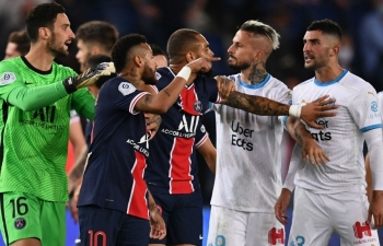 PSG thua trận thứ 2 liên tiếp sau trận đấu có 5 thẻ đỏ