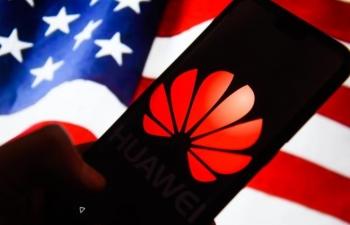 Mỹ cấm bán hàng chứa công nghệ Mỹ cho Huawei