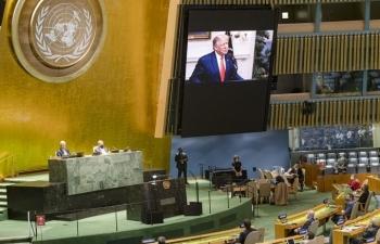 Những vấn đề đốt nóng kỳ họp Đại hội đồng Liên Hợp Quốc