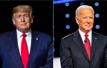 Trump, Biden lọt top 100 người ảnh hưởng nhất thế giới