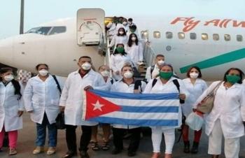 Đoàn bác sĩ Cuba được đề cử giải Nobel Hòa bình