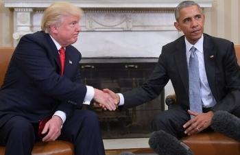 Thư của Bush cha và Obama khi chuyển giao quyền lực