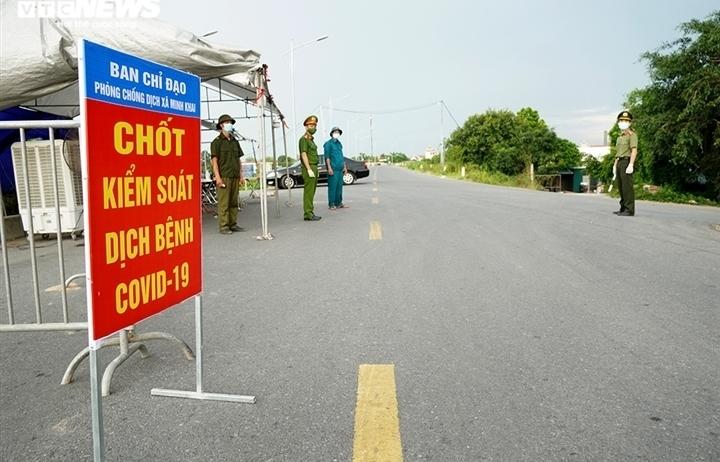 5 quận huyện nào ở Hà Nội giãn cách theo Chỉ thị 16 một phần sau ngày 6/9?