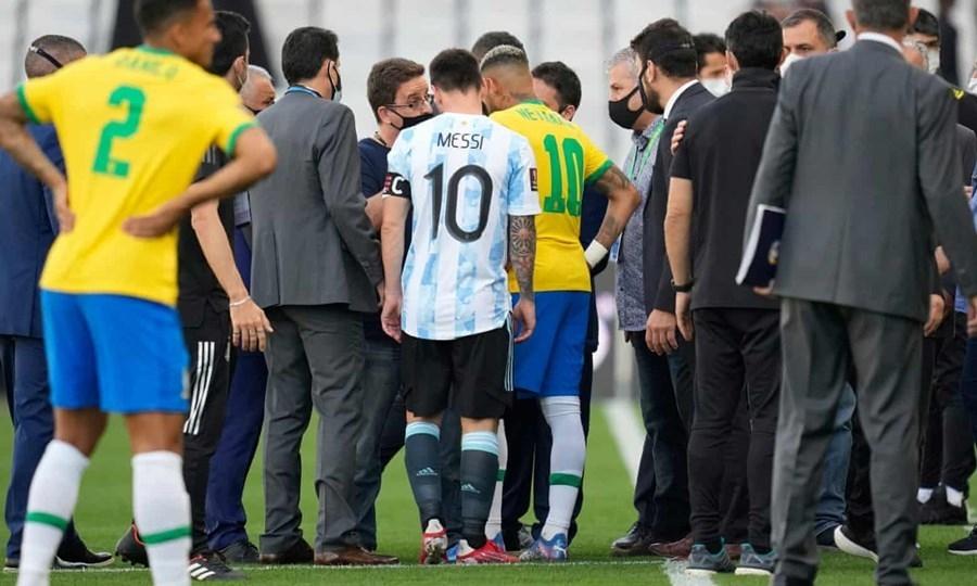 Vì sao trận đấu giữa Brazil và Argentina bị hủy bỏ?