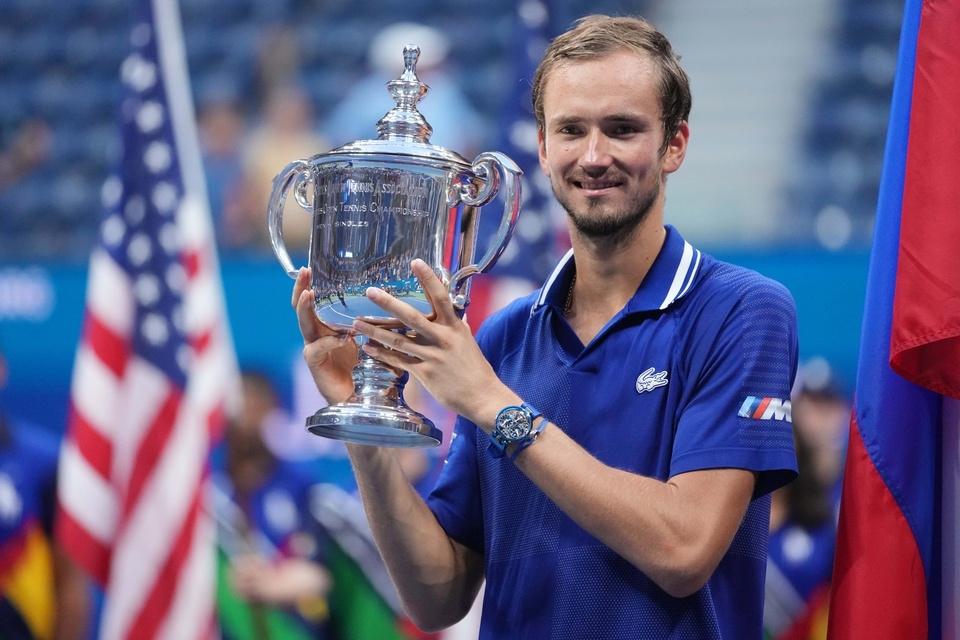 Medvedev đăng quang hoàn toàn xứng đáng