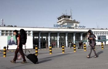 Chuyến bay thương mại đầu tiên hạ cánh ở Kabul