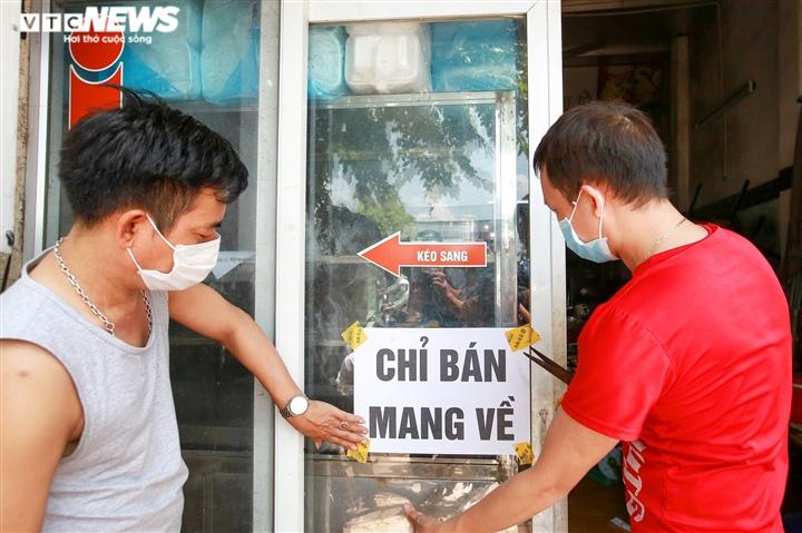 Danh sách 19 quận, huyện ở Hà Nội cho phép dịch vụ ăn, uống được bán mang về - 1