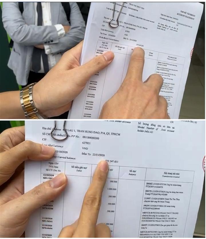 Vợ chồng Thủy Tiên công khai sao kê, đệ đơn kiện những người vu khống - 2