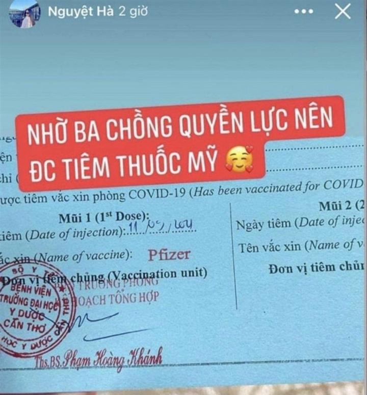 Phạt cô gái bịa chuyện tiêm vaccine COVID-19 'nhờ ba chồng quyền lực' - 2