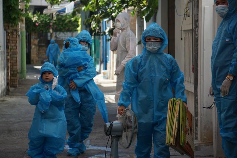 Đà Nẵng di dân 1 khu vực khi phát hiện 6 ca mắc COVID-19 cộng đồng -0