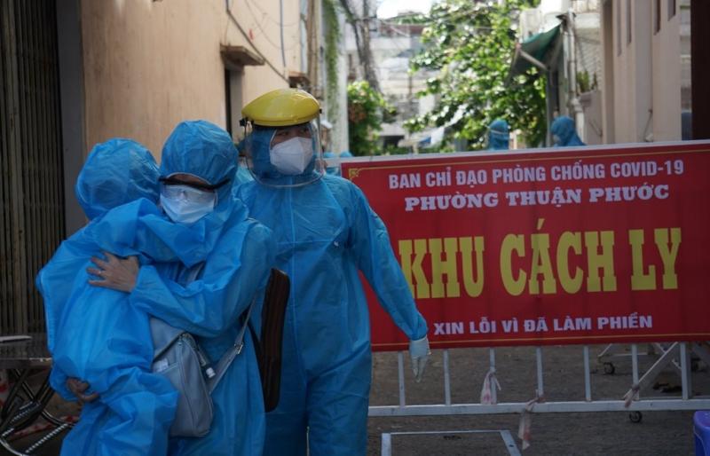 Đà Nẵng di dân một khu vực khi phát hiện nhiều ca mắc COVID-19 cộng đồng