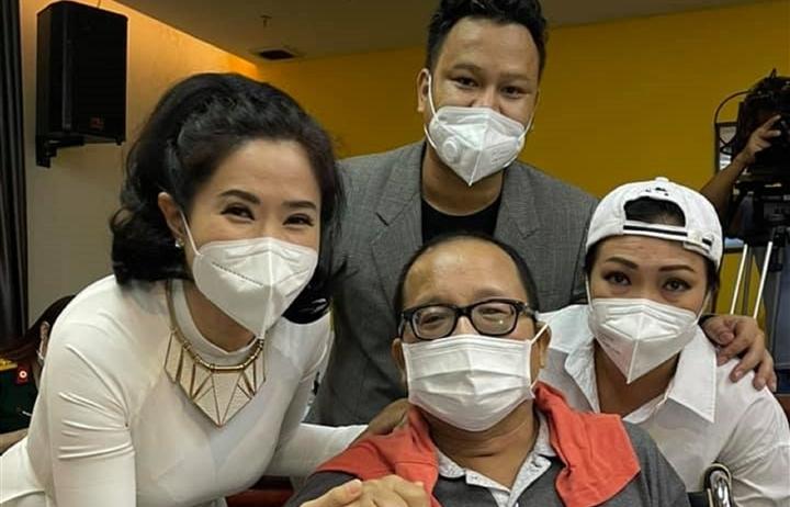 Nghệ sĩ Trần Mạnh Tuấn hồi phục sau cơn đột quỵ