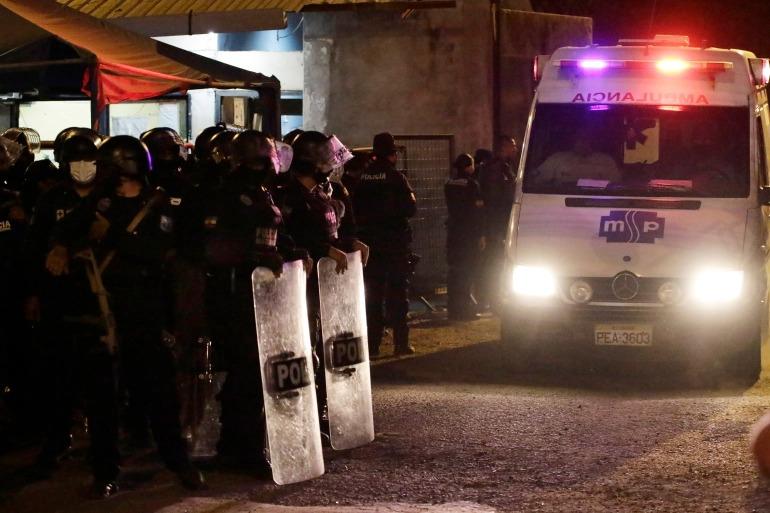 Bạo loạn trong nhà tù Ecuador, hơn 150 người thương vong  -0