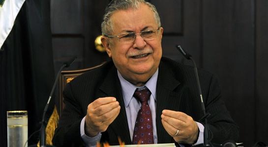 cuu tt iraq talabani qua doi nguoi kurd co doc lap