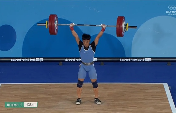 ngo son dinh xuat sac gianh hcv olympic tre 2018