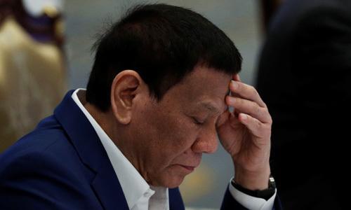 tong thong philippines nga xe may
