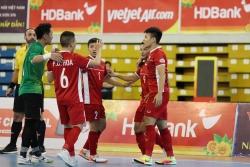 Thắng đậm Myanmar, Việt Nam dự futsal châu Á 2020