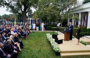 Buổi lễ có thể làm lan Covid-19 ở Nhà Trắng