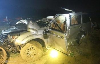 """Nhân chứng tai nạn 5 người chết: """"Nỗ lực cứu người nhưng bất thành"""""""