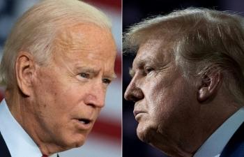 Thăm dò của Anh cho thấy Trump vượt Biden