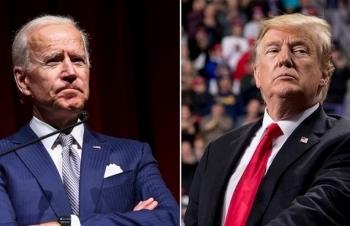 Biden nới cách biệt sau khi Trump nhiễm nCoV