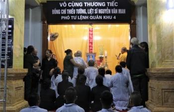 Thiếu tướng Nguyễn Văn Man đã về với quê hương