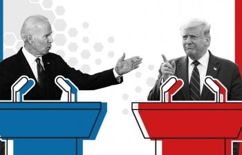 Cuộc đua Donald Trump - Joe Biden: Tổng thống Trump đang yếu thế trước cuộc tranh luận thứ ba