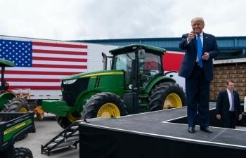 Nông dân Mỹ vẫn ủng hộ Trump dù lận đận bởi thương chiến
