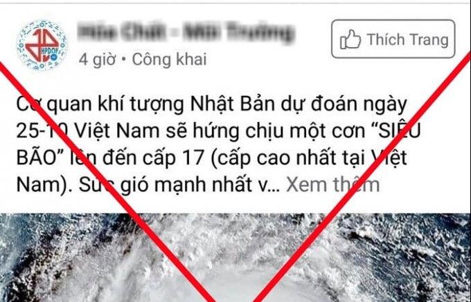 tin gia ve bao lu mien trung lan truyen khap facebook