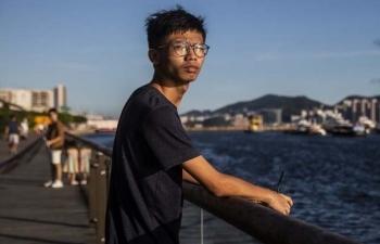 Hong Kong bắt nhà hoạt động gần lãnh sự quán Mỹ