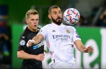UEFA Champions League vòng 2: Real Madrid thoát thua, Inter chưa biết thắng