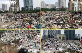 Chủ tịch Hà Nội Chu Ngọc Anh chỉ đạo khắc phục tồn tại của bãi rác Nam Sơn