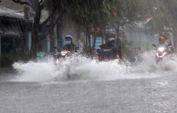 Không khí lạnh tăng cường, Bắc Bộ và Trung Trung Bộ mưa rất to