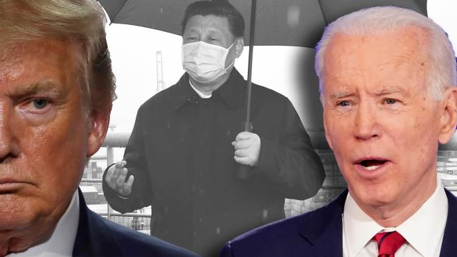 trung quoc thich biden on dinh hon trump that thuong