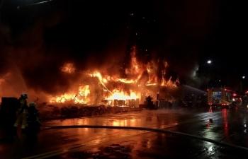 Cháy tòa nhà Đài Loan, 46 người chết trong biển lửa