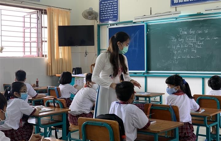 Chi tiết tiêu chí an toàn phòng, chống dịch trong trường học tại TP.HCM