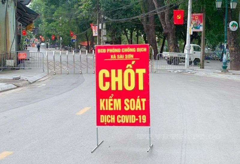 Ngày 25/10, Hà Nội thêm 18 người nhiễm nCoV, 12 ca ở ổ dịch Quốc Oai