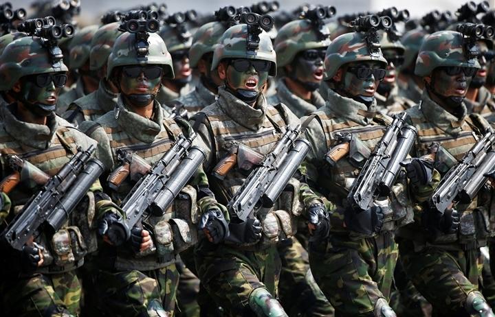 Lực lượng đặc biệt của Triều Tiên hùng mạnh nhất thế giới?