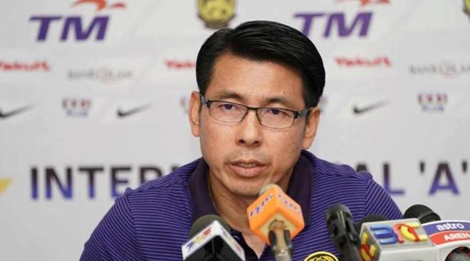 aff cup 2018 hlv dt malaysia ca ngoi kha nang tan cong cua tuyen viet nam