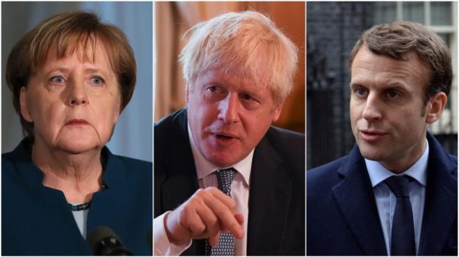 Lần đầu điện đàm với lãnh đạo Anh, Pháp, Đức, ông Biden nói gì? - 1