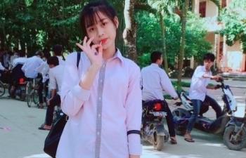 Hoa hậu Đỗ Thị Hà thời học sinh