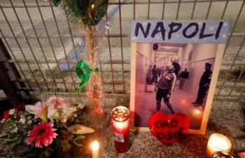 Naples khóc nghẹn, vĩnh biệt vị thánh bóng đá Diego Maradona