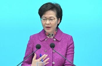 Trưởng đặc khu Hong Kong nói có