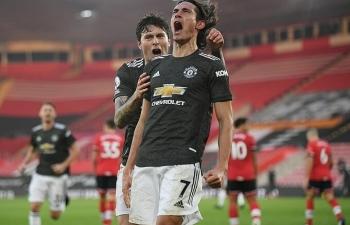 Man Utd lập kỷ lục thắng sân khách