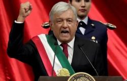 Tân tổng thống Mexico nhậm chức, cam kết 'tái sinh đất nước'
