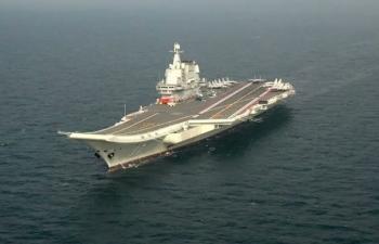 Tàu sân bay Trung Quốc sắp diễn tập trên Biển Đông